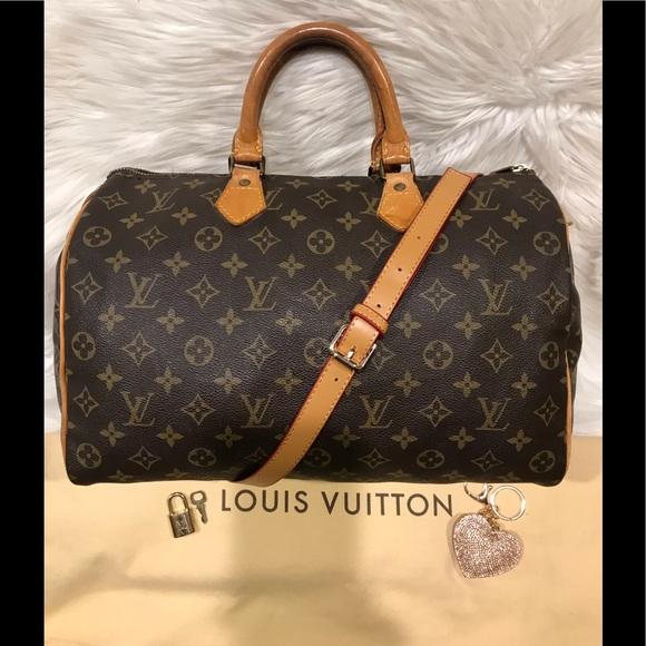 Louis Vuitton Handbags - Authentic Louis Vuitton Speedy 30 Tote #4.3K
